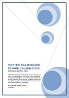 Cover for 'Succeed as a Manager in your Organisation - Building a Winning Team'