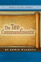 Cover for 'The Ten Commandments'