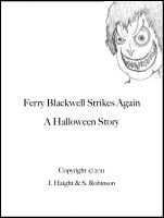 Cover for 'Ferry Blackwell Strikes Again'