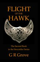 Cover for 'Flight of the Hawk'