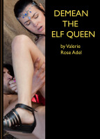 Cover for 'Demean the Elf Queen (Brutal Ogre Breeding Gangbang)'