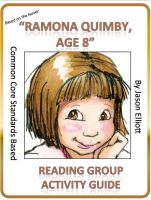 Cover for 'Ramona Quimby Age 8 Reading Group Activity Guide'