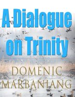 Domenic Marbaniang - A Dialogue on Trinity