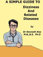 Cover for 'A Simple Guide to Dizziness and Related Diseases'