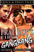 Cover for 'Frat Boy's First Gangbang (Gay Erotica)'