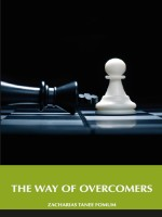 The Way Of Overcomers