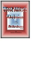 Cover for 'West Africa's Orisha and Astrology'