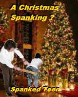 "Cover for '""A Christmas Spanking?""'"