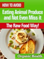 Cover for 'How to Avoid Eating Animal Produce and Not Even Miss it - The Raw Food Way!'