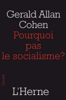 Cover for 'Pourquoi pas le socialisme ?'