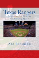 Cover for 'Texas Rangers: An Interactive Guide to the World of Sports'