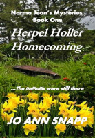 Cover for 'Herpel Holler Homecoming  Norma Jean's Mysteries Book One'
