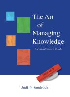 Cover for 'The Art of Managing Knowledge - a Practitioner's Guide'