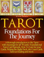 Cover for 'Tarot: Foundations for the Journey'