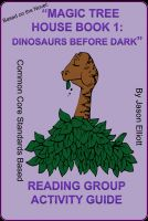Cover for 'Magic Tree House Book One: Dinosaurs Before Dark'