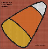 Cover for 'Candy Corn Cross Stitch Pattern'