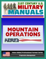 Cover for '21st Century U.S. Military Manuals: Mountain Operations Field Manual - FM 3-97.6, FM 90-6 (Value-Added Professional Format Series)'