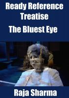 Cover for 'Ready Reference Treatise: The Bluest Eye'