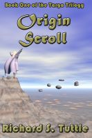 Cover for 'Origin Scroll (Targa Trilogy #1)'