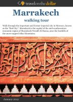 Cover for 'Marrakesh Walking Tour'