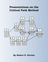 Cover for 'Presentations on the Critical Path Method'