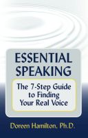 Cover for 'Essential Speaking: The 7-Step Guide to Finding Your Real Voice'