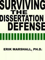 Cover for 'Surviving the Dissertation Defense'