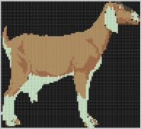 Cover for 'Goat Cross Stitch Pattern'