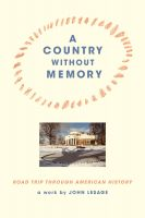 Cover for 'A Country without Memory'