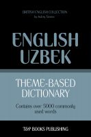 Cover for 'Theme-Based Dictionary - British English-Uzbek - 5000 words'