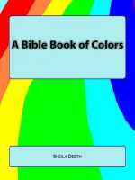 Cover for 'A Bible Book of Colors'