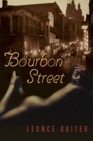 Cover for 'Bourbon Street'