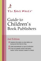 Cover for 'The Nitch Witch's Guide to Children's Book Publishers'