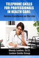 Cover for 'Telephone Skills for Professionals in Health Care'