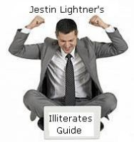 Cover for 'The illiterates guide to writing ebooks'