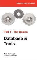 Cover for 'Oracle Quick Guides - Part 1 -  Oracle Basics: Database and Tools'
