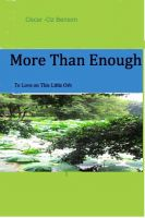 Cover for 'More Than Enough to Love on This Little Orb'