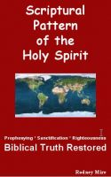 Cover for 'Scriptural Pattern of The Holy Spirit'