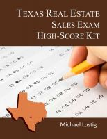 Cover for 'Texas Real Estate Sales Exam High-Score Kit'