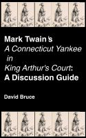 "Cover for 'Mark Twain's ""A Connecticut Yankee in King Arthur's Court"": A Discussion Guide'"