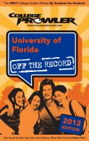 Cover for 'University of Florida 2012'
