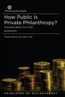 Cover for 'How Public is Private Philanthropy? Separating Reality from Myth'