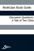 Cover for 'Discussion Questions: A Tale of Two Cities'