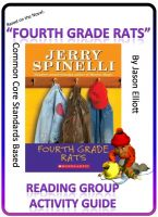 Cover for 'Fourth Grade Rats Reading Group Activity Guide'