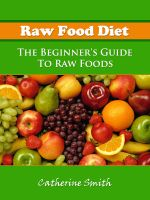 Cover for 'Raw Food Diet: The Beginner's Guide To Raw Foods'
