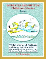Cover for 'Webbster and Button and Happy Hairy Huckleberry'