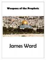Cover for 'Weapons of the Prophets'