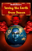 Cover for 'Saving the earth from demon'
