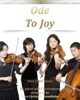 Cover for 'Ode To Joy Pure sheet music for piano and F instrument arranged by Lars Christian Lundholm'