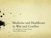 Cover for 'Medicine and Healthcare in War and Conflict'
